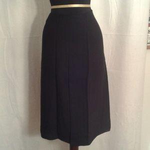 Magaschoni 16 black skirt midi